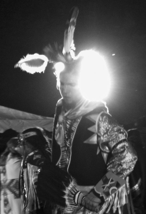 Powwow 2013 in B&W IV: East Quad. UC Davis, 04-13-13. The last one of the series.