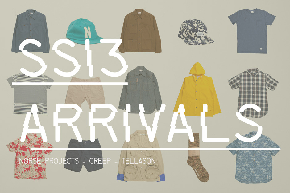Shop all our SS13 arrivals