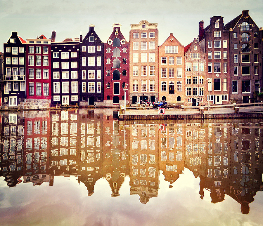 dearscience:  Amsterdam by Anna Gett  Reminds me of Anne Frank.