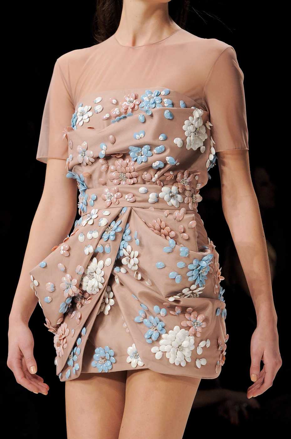 the-fashionhighway:  Blumarine Fall Winter 2013 | MFW