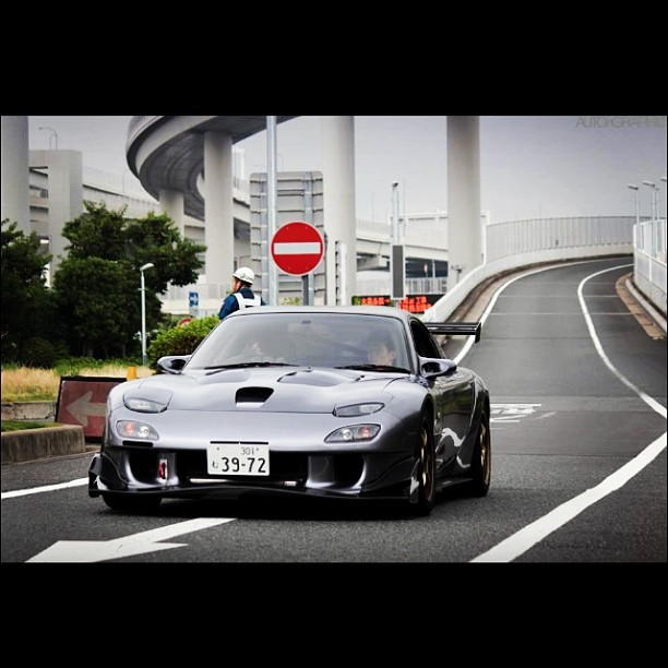 #mazda #rx7 #TweakedRevolution a car customizing #app for #iOS & #Android. #tr #blacklist #carspushingthelimits #amazing_cars #instacar #stancenation #majestic_cars #stance #carporn #canibeat #cargramm #carswithoutlimits #caroftheday #illest #cars #followback #nextmod #love  #picoftheday