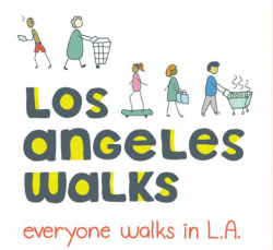 "Get Involved with Los Angeles Walks to Help Make the City More Walkable- Alissa Walker wrote in Walking, Los Angeles and Urban Design  Walking is a ""magic app"" that builds a healthier, safer, more vibrant city. Plus, walking connects us to our communities, puts us in contact with our neighbors, builds social capital and raises civic awareness. Plus, it's fun. We're organizing a campaign to get more Angelenos walking and make L.A. more walkable. If you sign up on our site at losangeleswalks.org, you can join walks and community events around L.A. throughout the year! Get involved with us and start walking!  Continue to kickstarter.com"