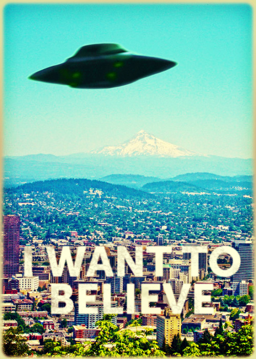 The PDX-Files. The truth is out there, friends.