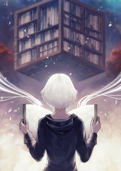 metropoli5nightmare5:  The Library by asuka111