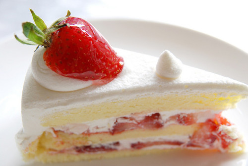 Strawberry Cake by Pumpkin Chief on Flickr.