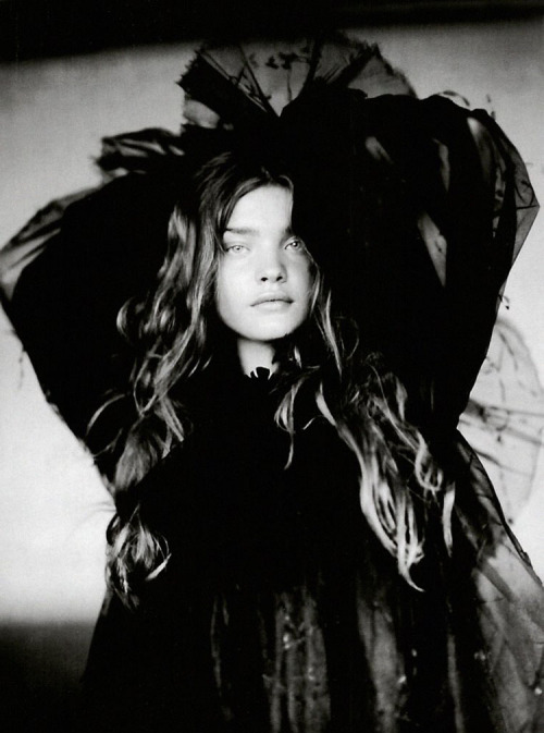 Natalia Vodianova by Paolo Roversi for Vogue Italia (September 2004).