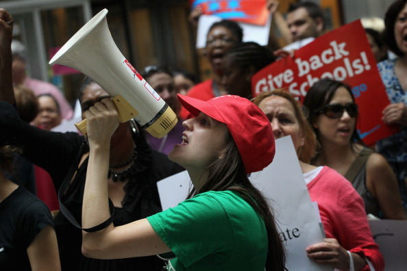 Chicago Teachers to Strike After Talks Fail (Photo by Scott Olson/Getty Images) CHICAGO (AP) – The Chicago Teachers Union says its members will go on strike Monday for the first time in 25 years. The union says contract talks with the district failed late Sunday night over issues including benefits and job security. More than 26,000 teachers and support staff are expected to hit the picket lines, while the school district and parents make plans for keeping students safe and occupied during the day. The walkout comes after months of tense negotiations between Mayor Rahm Emanuel, the school board and union leaders at a time when unions and collective bargaining have come under criticism around the nation during difficult economic times. District officials have made plans to feed and monitor students at 144 schools throughout the city during the strike.