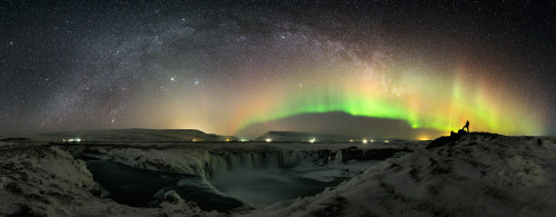 n-a-s-a:  The Waterfall and the World at Night Image Credit & Copyright: Stéphane Vetter (Nuits sacrées)