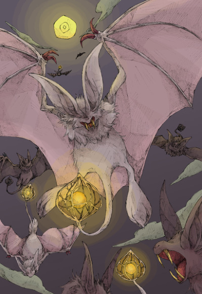 alternativepokemonart:  Artist Zubat by request.