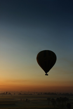 Ballooning at sunrise in Luxor - Egypt submitted by: ippu, thanks!