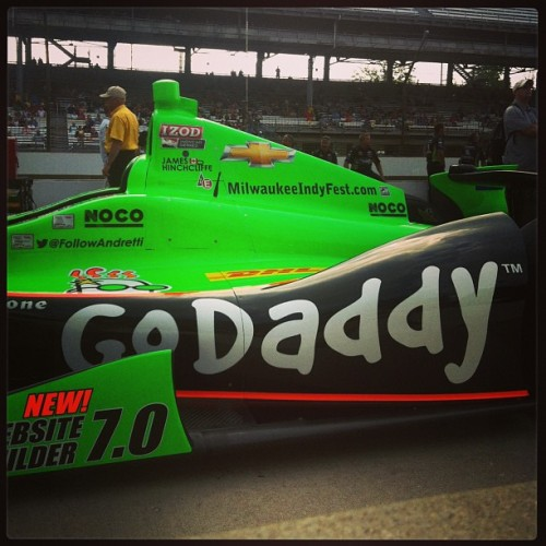 For daddy/daughter Pole Day, obviously.  (at Pit Lane Indianapolis 500)