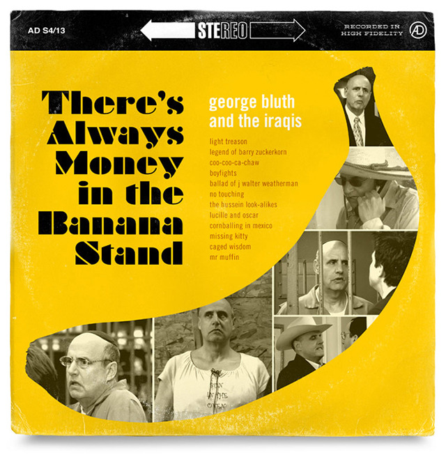 laughingsquid:  Arrested Development Music Album Covers