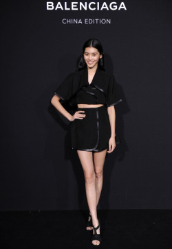 fashion Model Backstage beijing Balenciaga alexander wang Ming Xi