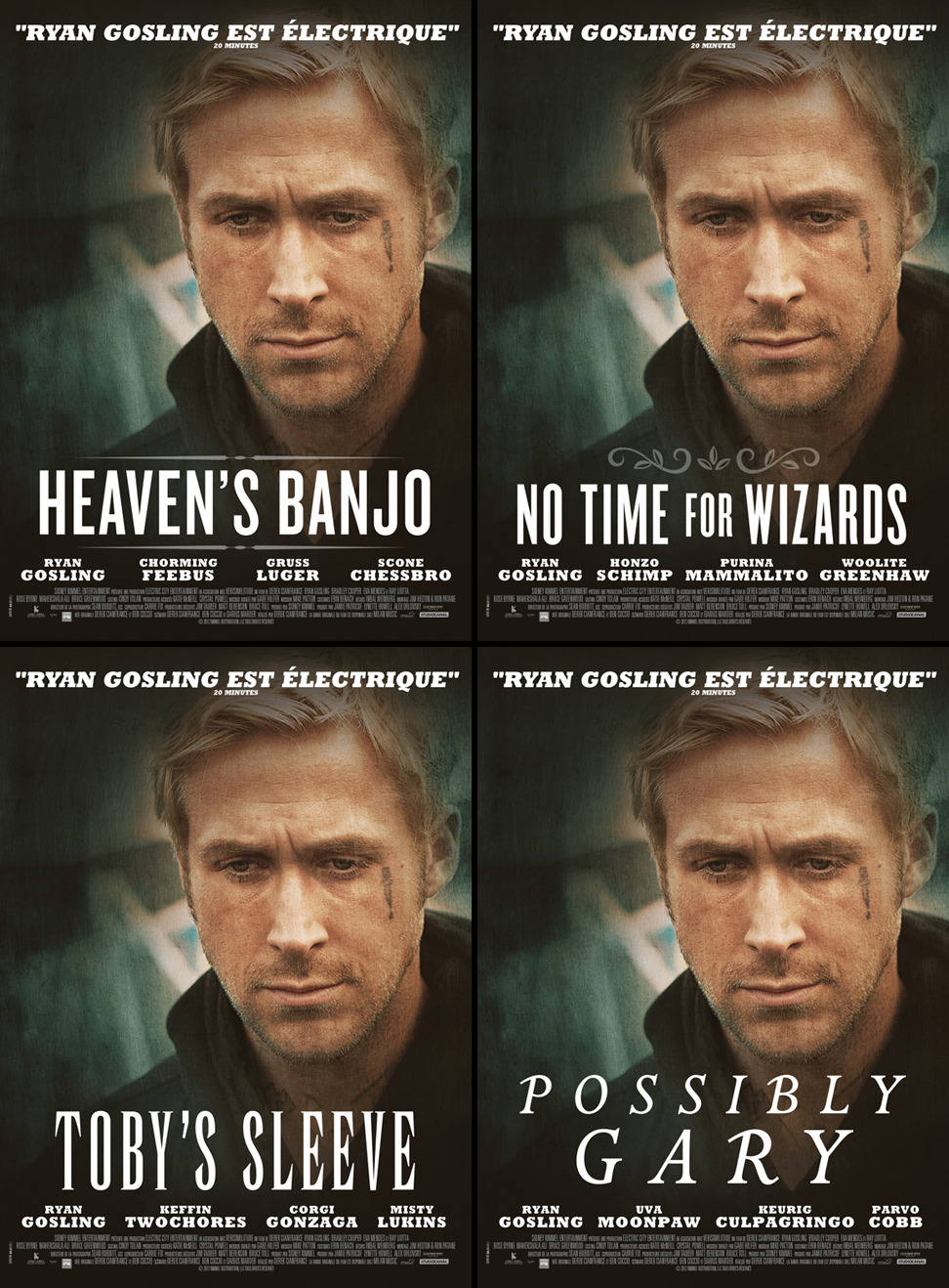 Ryan Gosling New Movies 1