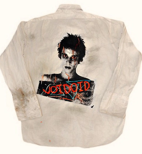 punkpistol-seditionaries:  . Vintage shirt with RICHARD HELL design on the back, circa 1977 PunkPistol @ www.SEDITIONARIES.com .
