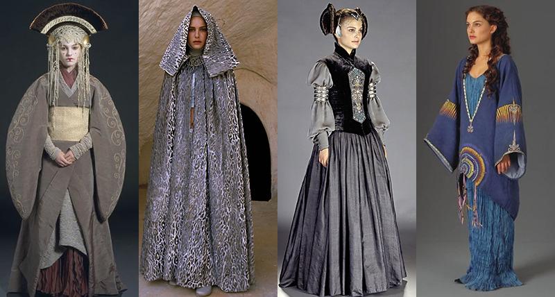 Star Wars Natalie Portman Padme Amidala Femmequeens