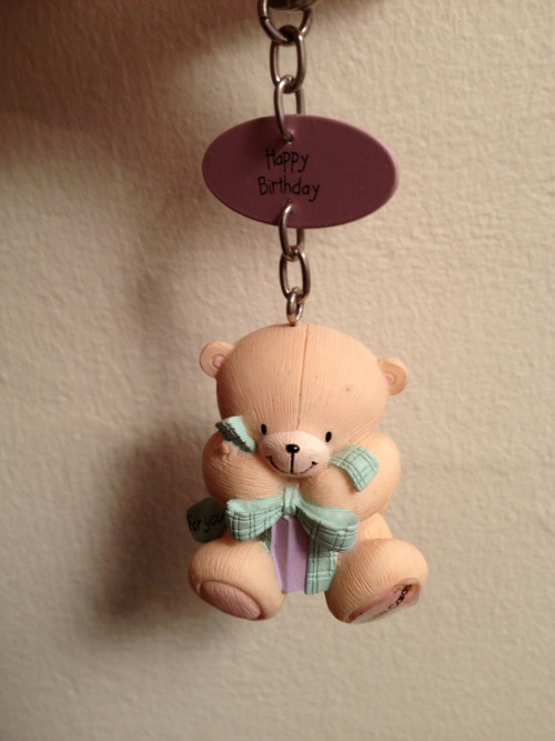 Day 30 of 30 day challenge Cute teddy bear key ring!!
