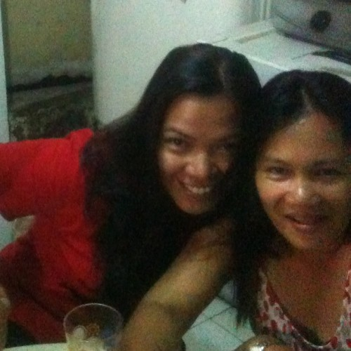 with my loving ate…