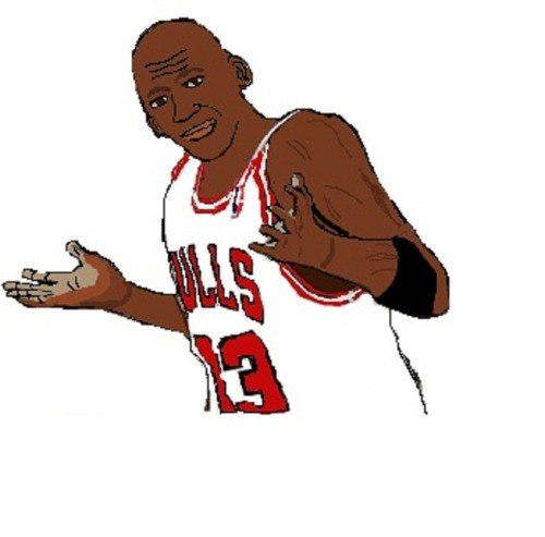 the legendary michael jordan