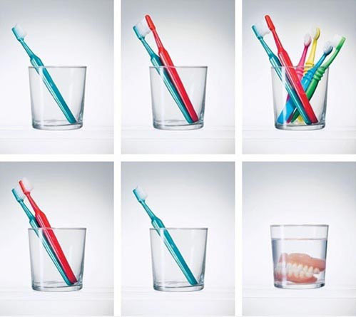 tastefullyoffensive:  Life of a Toothbrush[via]