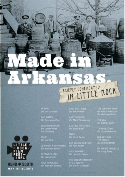 "Little Rock Film Festival announces ""Made in Arkansas"" lineup. ""45RPM"" will be screening   in May!  Dates & times TBA"