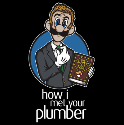 insanelygaming:How I Met Your Plumber