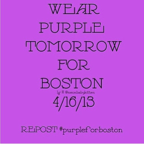 smile4usjustin:  #pray #prayforboston #purpleforboston #justinbieber #beliebers