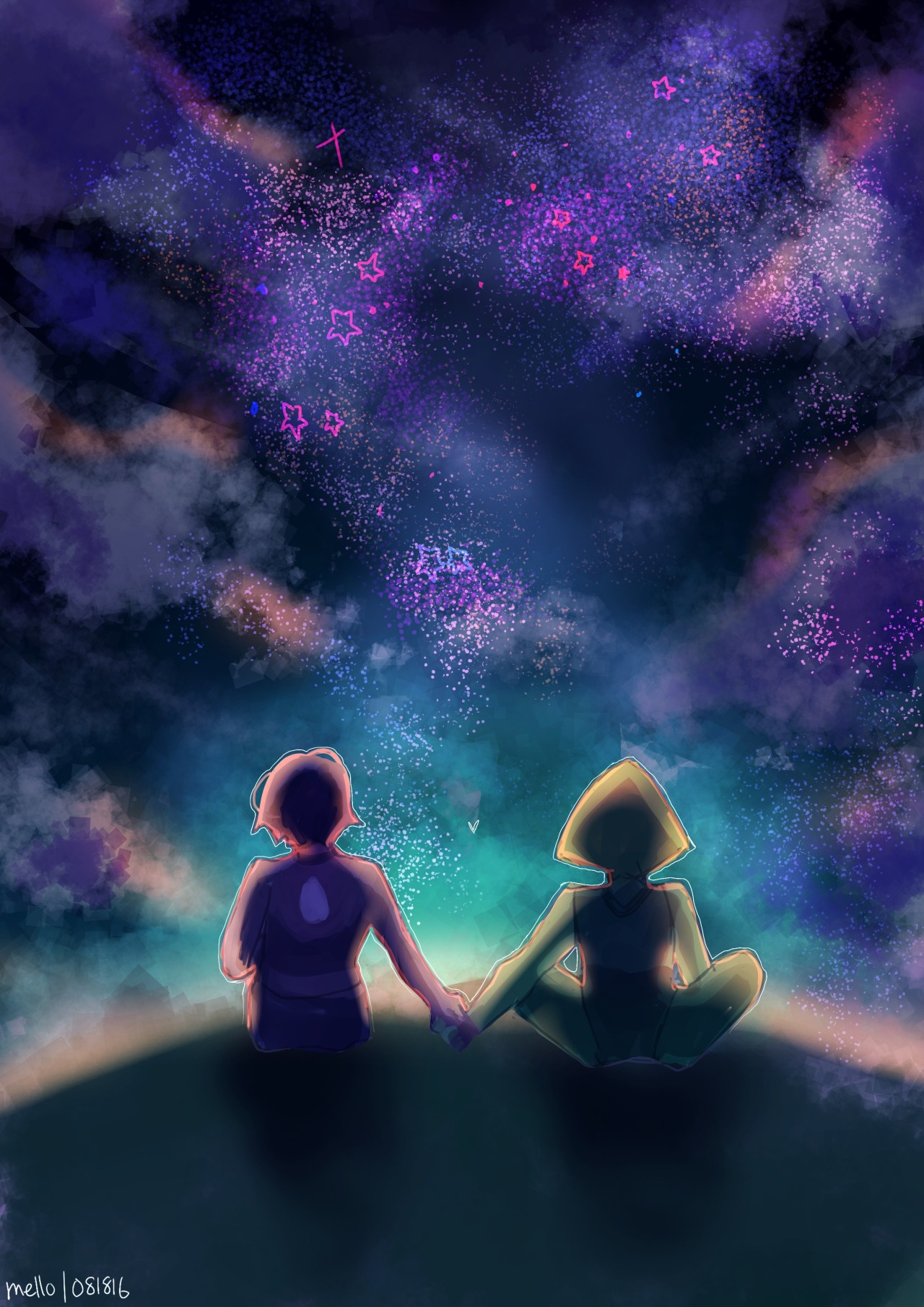 For lapidot week!! Day 3: stargazing