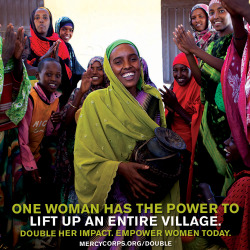 This month, your gift to help women in the world's toughest places will be matched by a group of fellow generous donors. With every dollar that doubles, the limitless potential of the women you're empowering will grow exponentially. Give today.