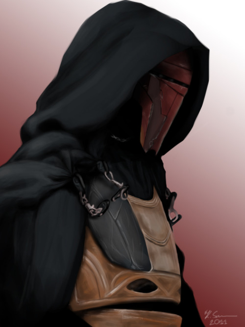 Darth Revan's (by ~AL13N) genetic material was cloned in me? -still amazed by this discovery-