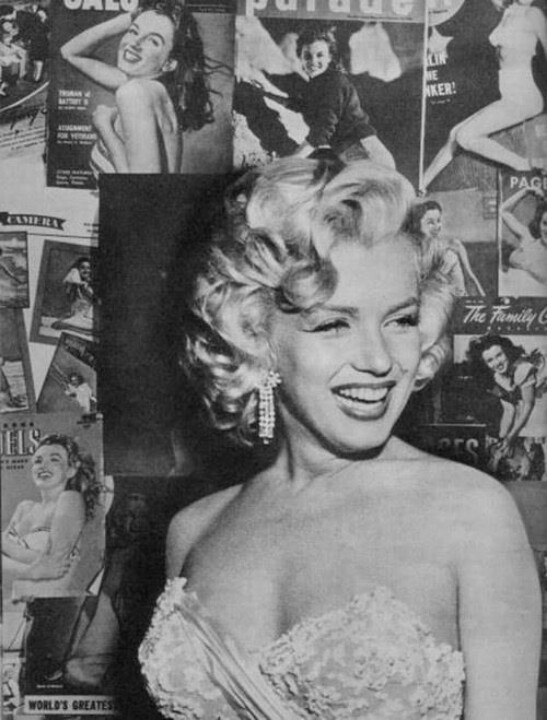 tracyvanity:  I love Marilyn, Jayne Mansfield was sexier since she was sluttier but Marilyn definitely was stunning. I have watched so many of her bios and knowing how miserable and crazy she was makes her even more beautiful.