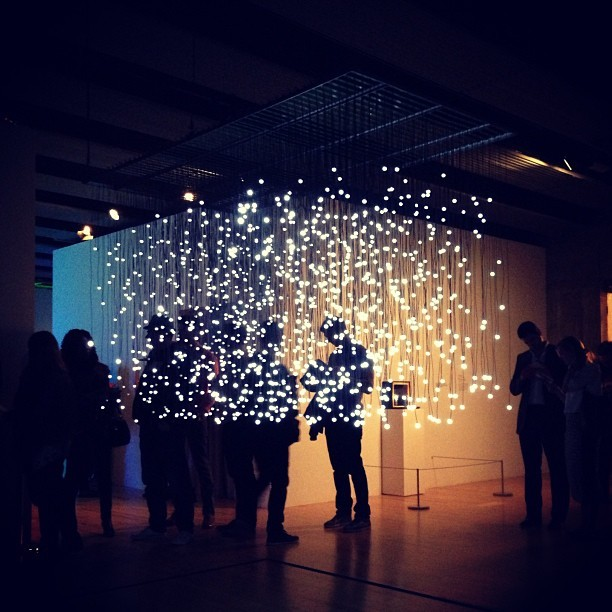 The Light Show @ The Hayward Gallery #design #light #exhibition #london
