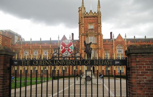 Per Request: Queen's University, Belfast. Belfast, Ireland.