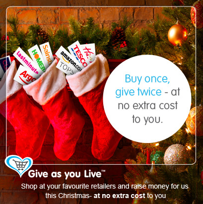 Shop once - Give twice!    Shop online for all of your Christmas gifts this year and raise funds for us, at no additional cost to you. There's over 2,000 stores involved including @John Lewis, @Topshop, @House of Fraser, @Hamleys and more. Simply discover and download Give as you Live before you start your shopping and a percentage of what you spend will be donated to CVQO http://www.giveasyoulive.com/join/cvqo