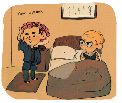 inchells:  the secret to sherlocks perfect curls