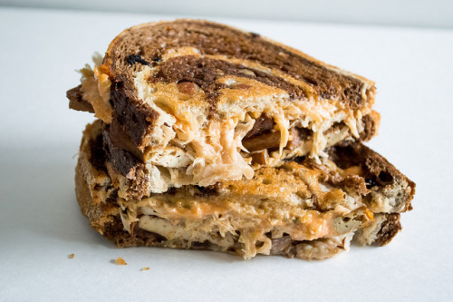 veganfeast:  Tempeh Reuben from the Randy Radish Food Truck by Hiramcamillo on Flickr.