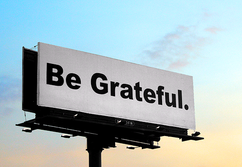 (via The Importance of Being Grateful)