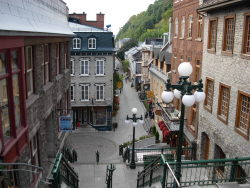 Quebec City, Quebec, Canada. Old part of Quebec City submitted by: backpackersguidetoearth, thanks!