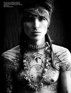 ibkodfashion:  Bradley Soileau by Matthew Brookes, A Perfect Guide