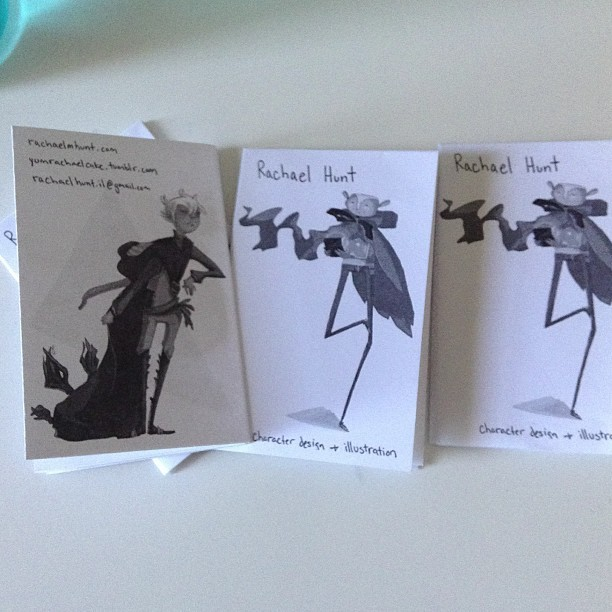 So I made some simple zines for MoCCA fest!