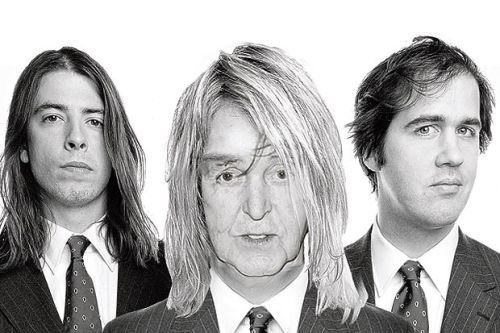 "The Sun is reporting that Paul McCartney will ""front a Nirvana reunion"" at the 12-12-12 Sandy benefit tonight. Rumor has it they'll be playing a new song, not Nirvana material, so—even overlooking the absence of Kurt—calling it a ""Nirvana reunion"" is a stretch. And it's not like Grohl, Novoselic and Smear haven't all played together in recent years.Also, the story's quotes from Macca sound totally fake: ""I didn't really know who they were. They are saying how good it is to be back together. I said: 'Whoa? You guys haven't played together for all that time?' And somebody whispered to me: 'That's Nirvana. You're Kurt.' I couldn't believe it."""