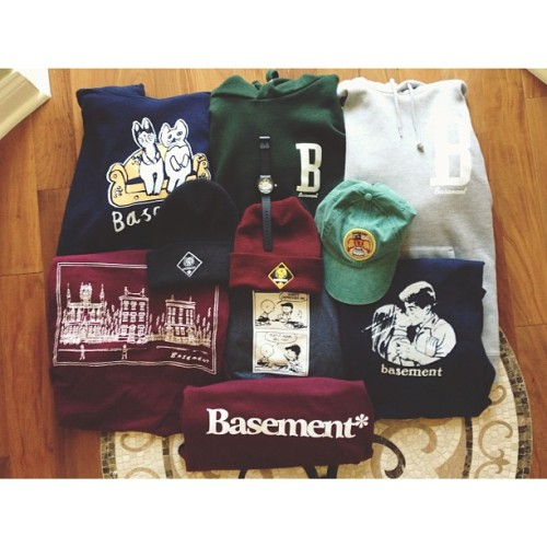 c0ldoutside:  Collection….so far #basementuk #basement