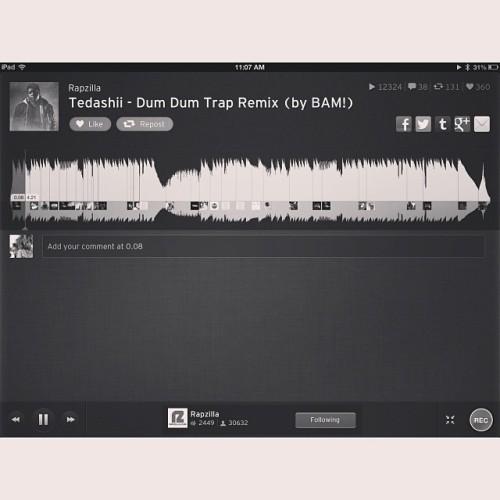 Everyone go follow @Rapzilla on #soundcloud! #Christian #trap #music #christianrap