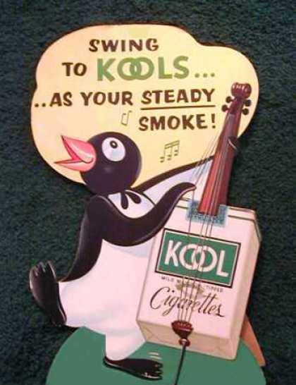 weirdvintage:  Kool Cigarettes ad, 1950 (via Vintage Ad Browser)