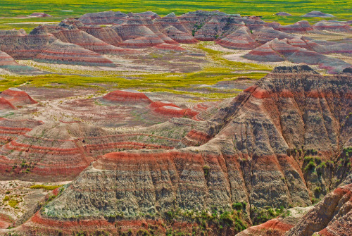 Badlands National Park in South Dakota. What are your favorite things about this park?Photographer: Lisa Woodburn