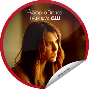 I just unlocked the The Vampire Diaries: The Walking Dead sticker on GetGlue                      1602 others have also unlocked the The Vampire Diaries: The Walking Dead sticker on GetGlue.com                  Caroline tries to distract Elena from her dangerous new obsession. Thanks for watching, you've unlocked the 'The Walking Dead' sticker.  Share this one proudly. It's from our friends at The CW.