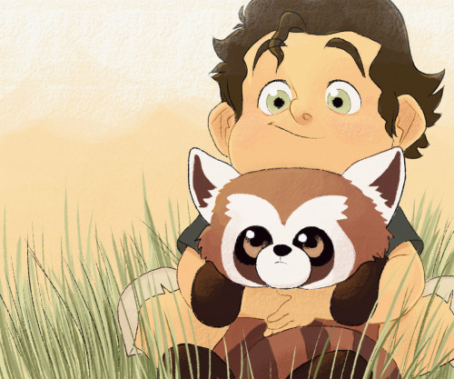 michaeldantedimartino:  pocketpicasso:  Baby Bolin and Pabu…! I miss Legend of Korra a whole bunch. Can't wait for it to start agaaaaain   So cute!!  MYGOD