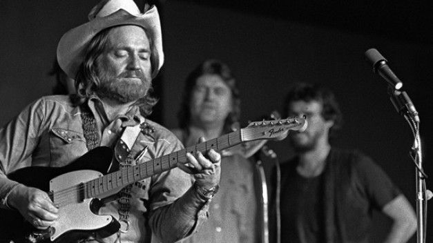 "nprfreshair:  Tomorrow is Willie Nelson's 80th birthday. He might just be the coolest 80-year-old out there. For some Willie reading, last year Texas Monthly did an oral history of outlaw country — ""That Seventies Show"":  Up to that point, the cosmic cowboys had played to crowds that looked largely like they did. Willie brought a different audience; though he'd never made it big as a performer nationally, he'd always been able to fill a Texas honky-tonk. Once he figured out how to bring the hippies and the rednecks together, the scene grew into something no one had seen before. Most folks have always credited that to his innate charisma, to the idea that Austin was the place where Willie was finally allowed to be Willie. But the fact is, Willie came to town with a specific goal in mind: building a scene that would allow him to ignore Nashville completely. And he pulled that off with more than luck and a smile.   A Fresh Air interview with the birthday boy. HT The Morning News Image via Bronx Banter"
