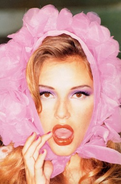 blackisnotthecolor:  Bridget Hall by Ellen von Unwerth
