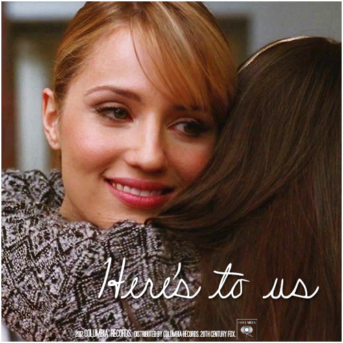 3x14 On My Way | Here's To Us Requested Alternative Cover 'The Faberry Series' Request by sebastianscampbell